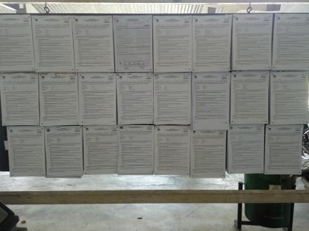 Pubikasi Salinan C-1 hasil Pemilu