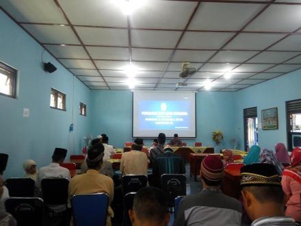 Pengajian dan Buka Bersama Pamong Desa