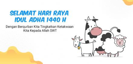 Takbir Idul Adha 1440 H