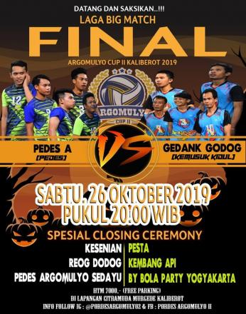 Pertandingan Final Argomulyo Cup II