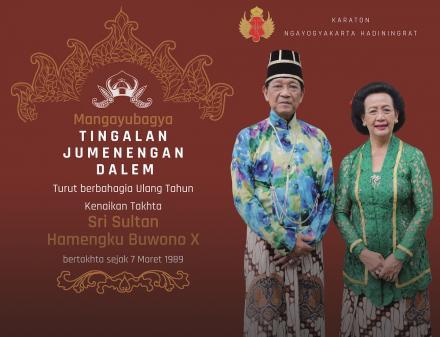 Peringatan Kenaikan Takhta Sri Sultan Hamengku Buwono X